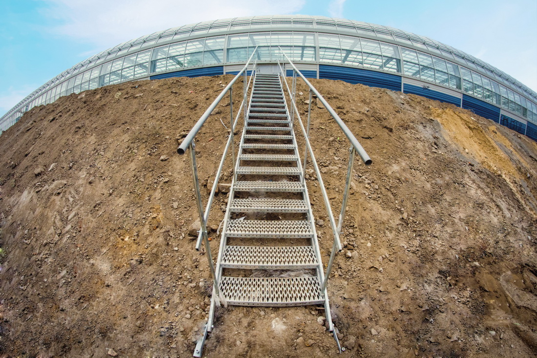 schody do wykopów