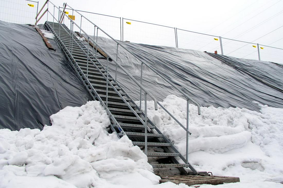 schody tymczasowe